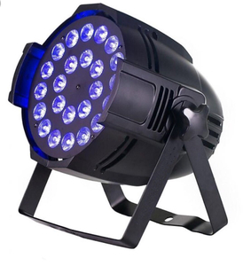 Cheaper 24pcs x 18 Watt 6in1 UV Led Par Can Light