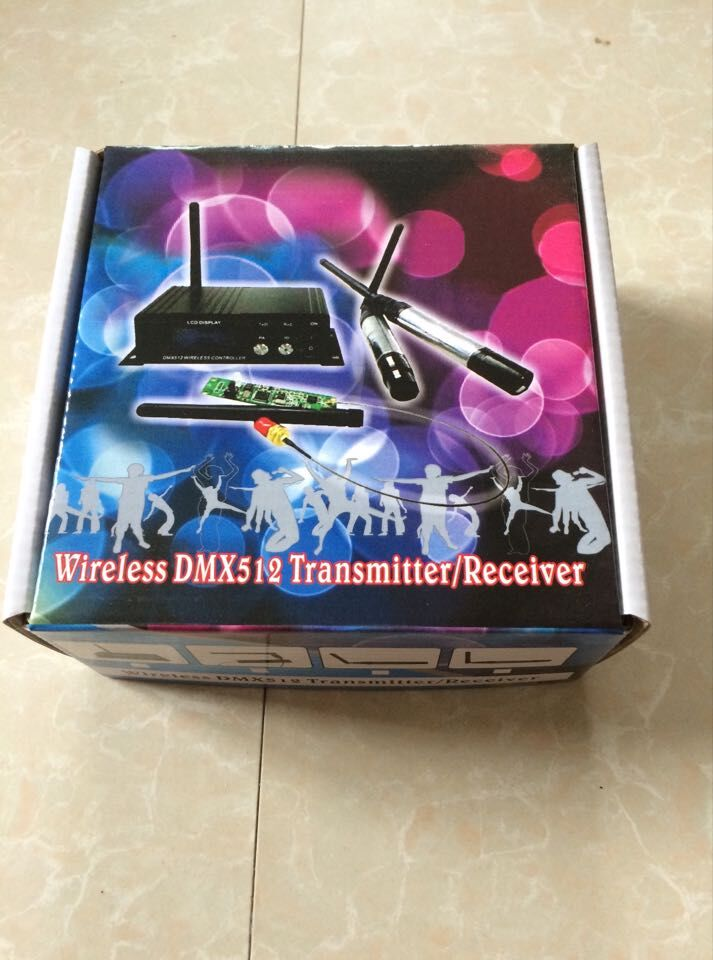 DMX512 Wireless signal Sender transmitter & receiver