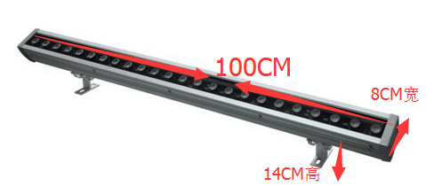 New 24x4w RGBW 4in1 led wall washer light