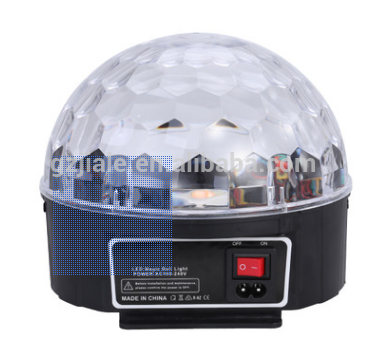 led rgb Crystal magic ball stage effect light