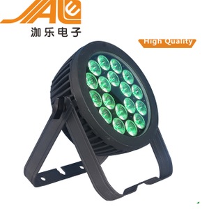 18*18W RGBWA+UV 6IN1 LED Flat Par Light