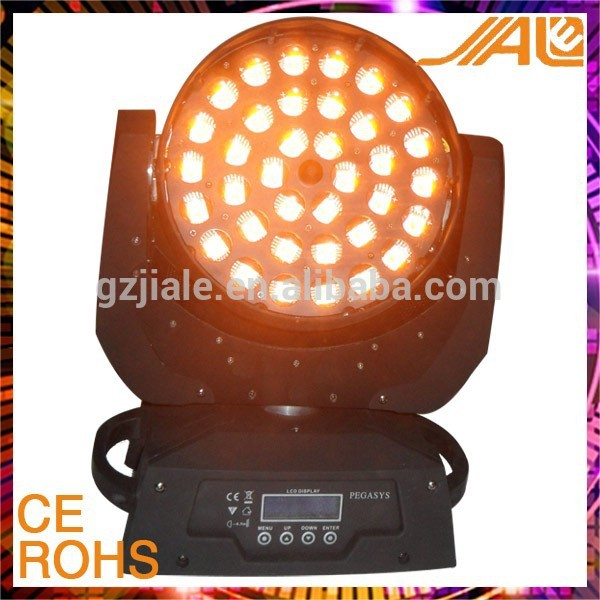 HOT 36*10w RGBWA 5in1 Zoom led Moving head wash
