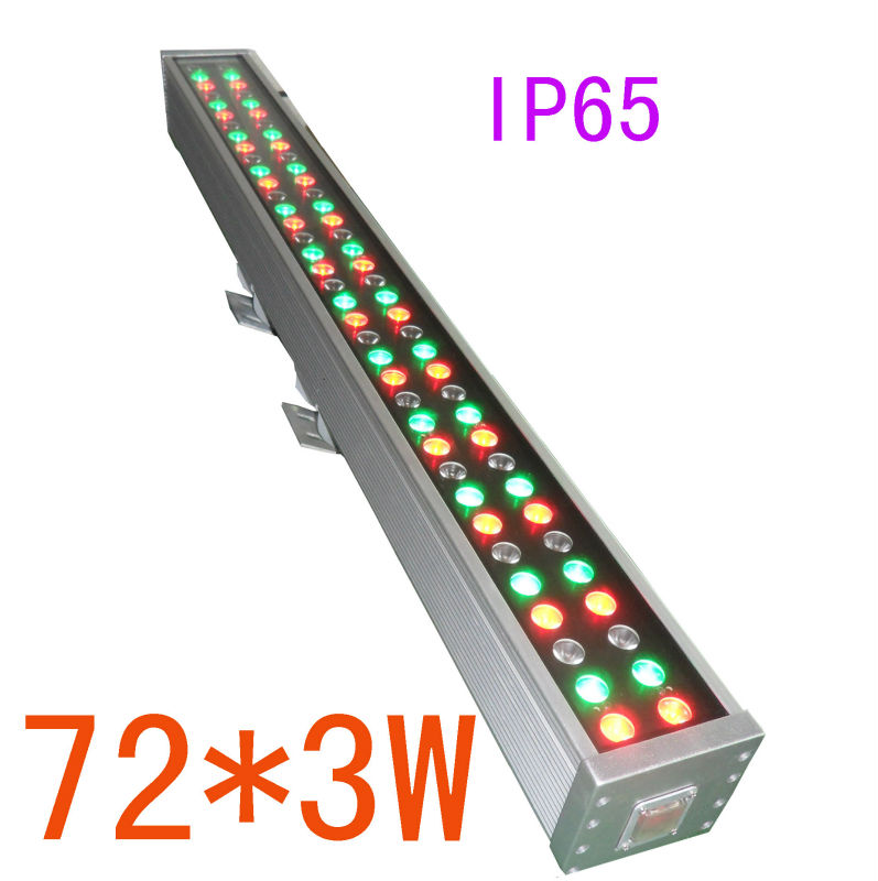 72*3w LED RGBW waterproof bar light