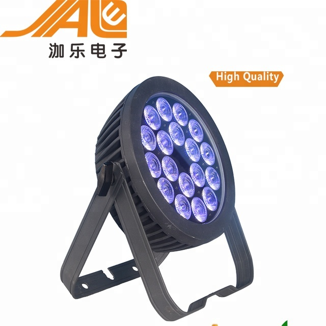 Outdoor Waterproof light 18x10w RGBW 4in1/RGBWA 5in1 LED Par Light