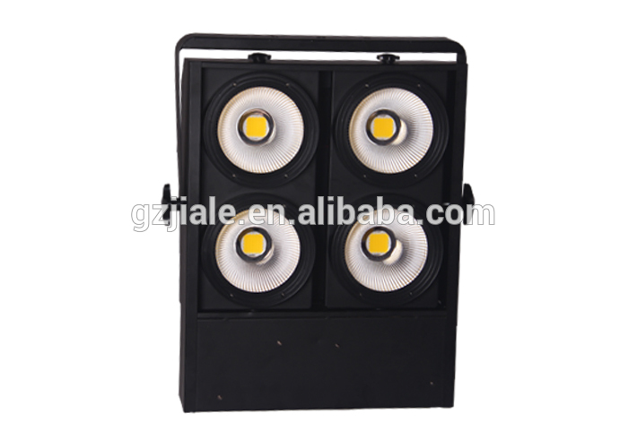 400w 4 eyes COB led white color DMX blinder light CW/WW
