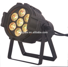 professional 7pcs*10W led par light RGBW disco light 4in1 mimi stage light