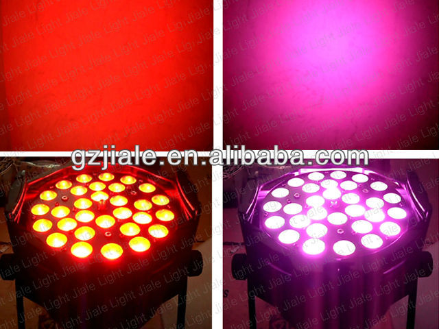 30pcs 3w RGB 3in1 led par light DJ lights/ led DJ light Zoom