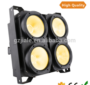 high lumen 4 eyes COB blinder light 100w led dmx audience stage light warm white par light