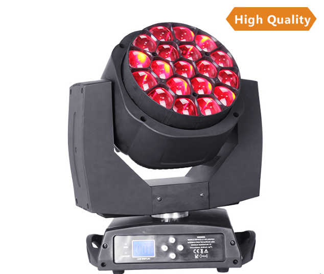 led moving zoom beam light, rgbw led stage light