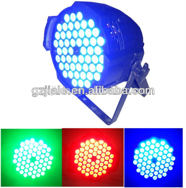 54 3W RGB 3in1 stage lamp led par light