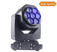 7x15w LED Beam Moving Head Light RGBW 4in1 Moving Head Stage Light Mixer wash led