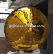 Professional Disco Mirror Ball 1 meter diameter silver glass