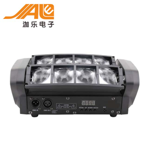 8x10w RGBW 4in1 led beam moving head light stage light