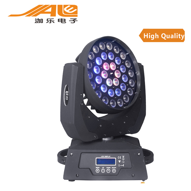 36 x 15w RGBWA 5in1 stage light Led moving Head Zoom wash light