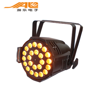 24pcs 360w dj lamp led par light RGBWA par can party lighting