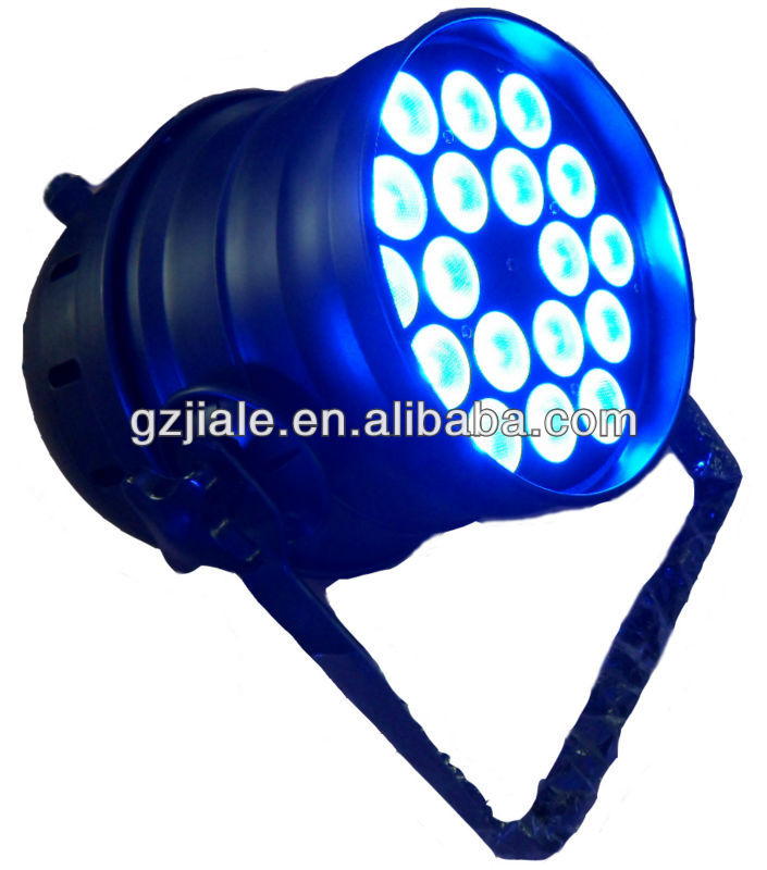 18*3w RGB 3in1 professional Led Par light/ tricolor led par