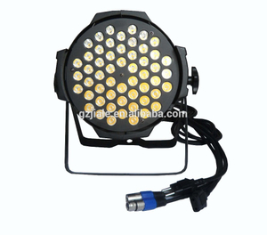 indoor par 54 pcs leds 3in1 3w DMX light 54 3 watt par led
