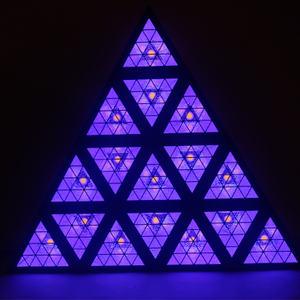 Triangle Stage Light RGB Effect Light Matrix Light Event Background Effect Light Dj Led Lights