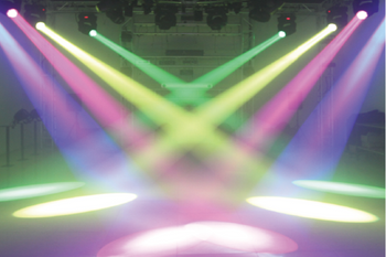 The difference between beam light and moving head light